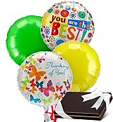 Balloons & Chocolate: Balloons & Chocolates-4 Mylar