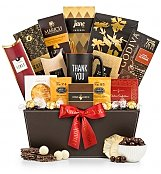 Gourmet Gift Baskets: Deluxe Thank You Selection
