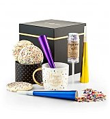 Gourmet Gift Baskets: Happy Birthday Confetti Box