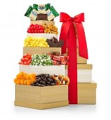 Gift Towers: Classic Confections Gourmet Gift Tower