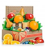 Fruit Baskets: Harvest Fruit and Snacks Sampler